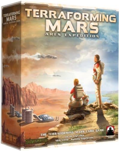 Terraforming Mars: Ares Expeditionin kansi